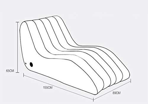 Sofá inflable sexual, portátil, plegable, sillón de lounge ...