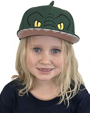 Geeignet f/ür 3-7 Jahre alte Kinder Tukistore Baby Boys Hat Small dinosaur L