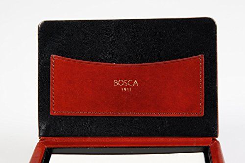 Bosca Old Leather Flip Top Memo Box (Amber) by Bosca (Image #5)