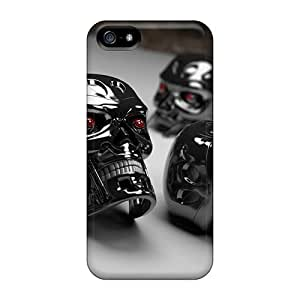 Tpu Case For Iphone 5/5s With 3d Cyborg