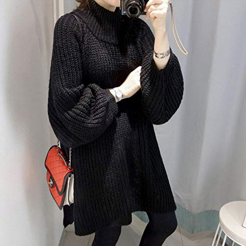 Winter Maglione Sleeveturtleneck Thick Autumn Sweaterspullovers Long Tfdgh Femme Women Sweater nbsp;hiver nbsp; nbsp; Oversized qEw1n