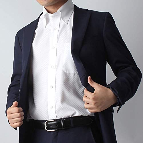 [スポンサー プロダクト][ドレスコード101] ワイシャツ 【スマシャツ】 洗って干してそのまま着る 綿100% だから優しい着心地 ノーアイロン 長袖 形態安定 EATO22 メンズ