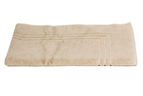 TowelSelections Pearl Collection Luxury Soft Towels – 100% Turkish Cotton, Made in Turkey, Desert Sand, Bath Mat ()
