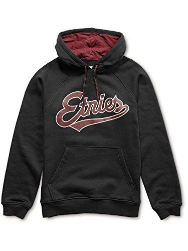 Etnies Mens Tilney Hoody Pullover Sweatshirt/Sweater Medium Black