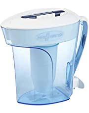 ZeroWater 10 Cup Pitcher with Free TDS Meter (Total Dissolved Solids)