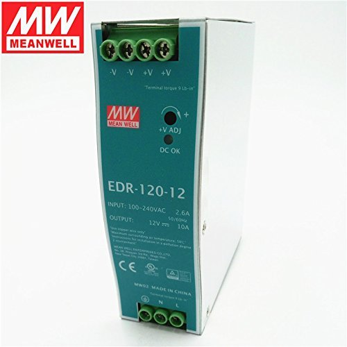 DIN Rail Power Supplies 120W 12V 10A EN55022 Class A