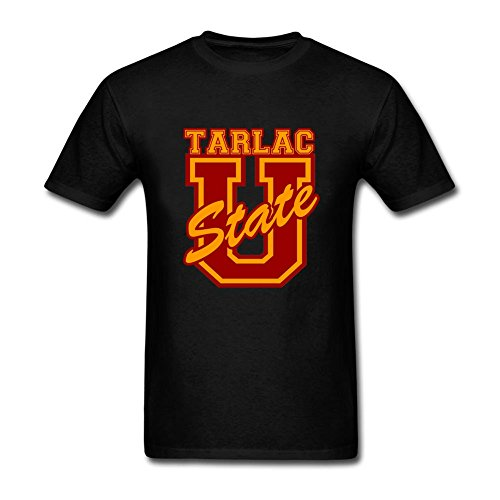 [Top Designer Mens Tarlac State University New Anniversary O-Neck Short Sleeve T Shirt Black XXL] (Joni Mitchell Costume)