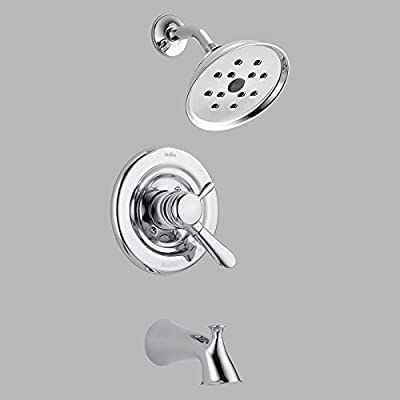 Delta Lahara T17438-H2O Monitor 17 Series Wall Mount Tub and Shower Trim Set