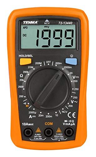TENMA - 72-13440 - DMM, Handheld, Manual, 2000 Count