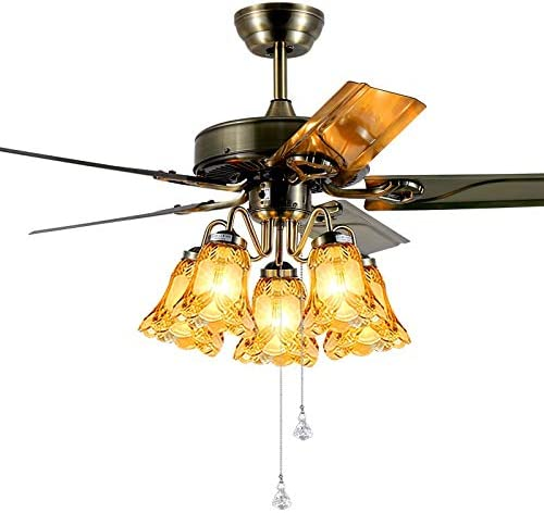 Ventiladores de techo con lámpara Luz De Ventilador De Techo Hoja ...