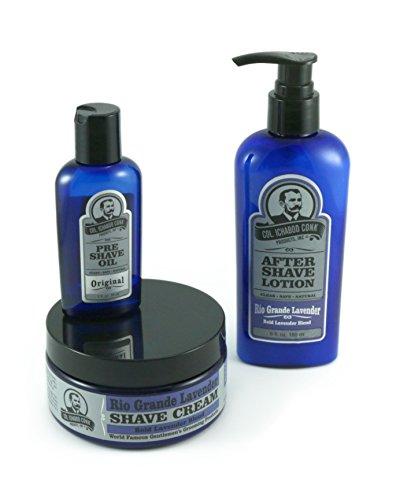 Colonel Conk 3 piece All Natural shaving kit - Rio Grande - Noten Price Dries Van