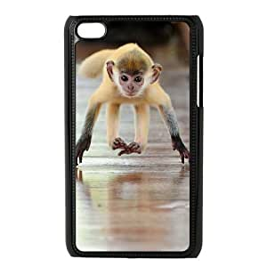 ZHANG Hard Case Monkey Cover For ipod Touch 4