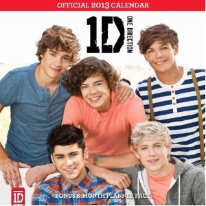One Direction 2013 Square 12x12 Wall Calendar + A Free Stretchie Collectors Bracelet By Confetti (Zayn Malik Calendar)