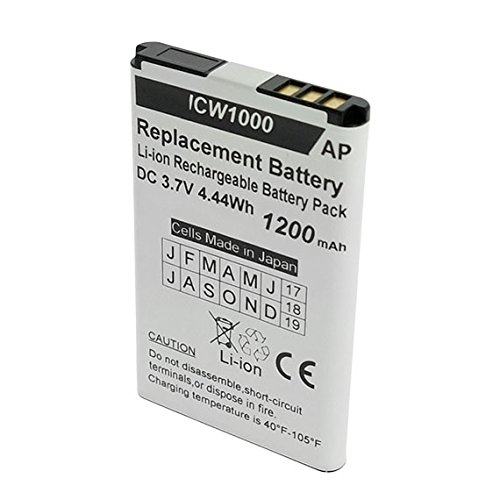 Artisan Power UniData ICW-1000G and WPU-7800 Phones Replacement Battery. 1200 mAh by Artisan Power