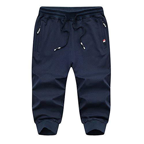 Moda Hombres Transpirable Color De Los Playa Estilo Cómodos Casual Marca Mode La Pantalones Cortos Azul 1051 Sólidos wqSxBTIT