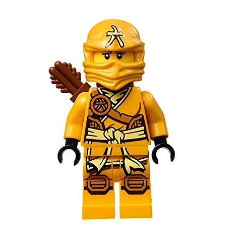 Worksheet. LEGO Ninjago Minifigure  Skylor Female Orange  Gold Ninja with