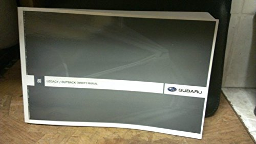 Subaru Outback Owners Manual - 2008 Subaru Legacy / Outback Owners Manual (Legacy Sedan, Legacy Station Wagon, OUTBACK Station Wagon)