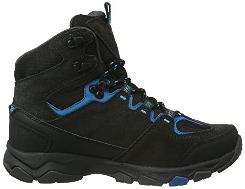 Jack Wolfskin Mtn Attack 5 Texapore Mid W, Zapatos de High Rise Senderismo para Mujer Gris (dark turquoise 1077)