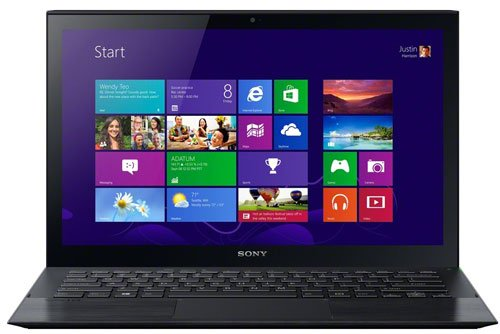 (Sony - VAIO Pro 11 SVP112190X (Carbon Black) - Intel Dual-Core i5-4200U 1.60GHz - 8GB RAM - 128GB SSD - Windows 8 Pro - 11.6-inch (1920x1080) Touchscreen)