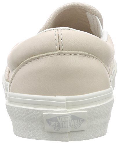 Vansu Classic Slip-On Perf Leather - Zapatillas Mujer Rosa (leather/whispering Pink/blanc De Blanc)