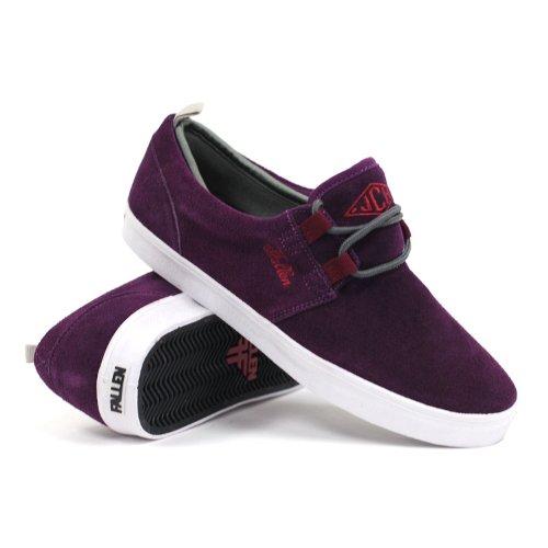 da93aada39c26 Fallen Men's Capitol Black Plum/Cordovan Skate Shoes - 8.5 - Buy ...