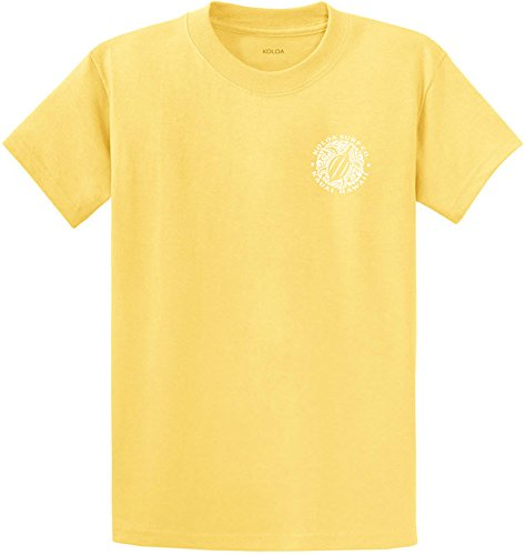 (Koloa Surf.(tm)-2 Side Honu Hawaiian Turtle T-Shirt-Yellow/w-M)
