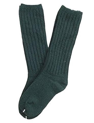 Lian LifeStyle Children 6 Pairs Knee High Wool Socks Size 0-2Y(Green) - Childrens Toe Socks