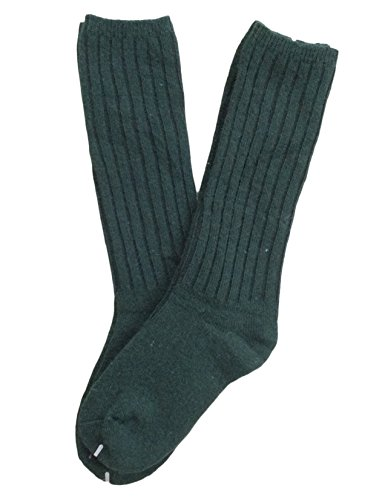 lian-lifestyle-children-2-pairs-knee-high-wool-socks-size-4-6ygreen