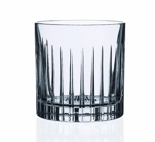 Lorren Home Trends 258850 Timeless DOF Double Old Fashion Set of 6, 12 oz, - Fashioned Old China Glass