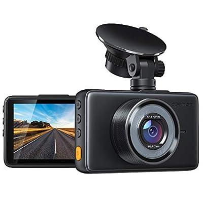 APEMAN Dashcam 1080P Full HD DVR Autokamera 3 Zoll LCD-Bildschirm 170 ° Weitwinkel, G-Sensor, WDR, Parkmonitor, Loop…