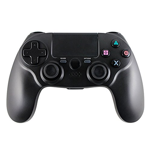 HBetterTech Bluetooth Controller for PS4, All New Wireless Bluetooth Game Controller Gamepad for PS4 PlayStation 4 from Third Party(Black)