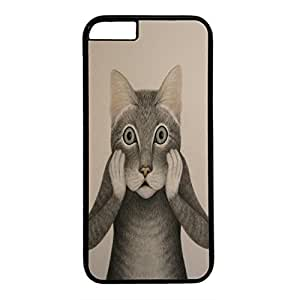 DIY iPhone 6 Case Cover Custom Phone Shell Skin For iPhone 6 With Angry Cat