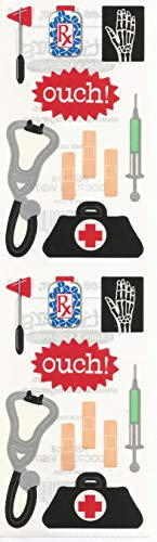 Frances Meyer Medical Doctor's Visit - Meyer Stickers Frances Scrapbooking