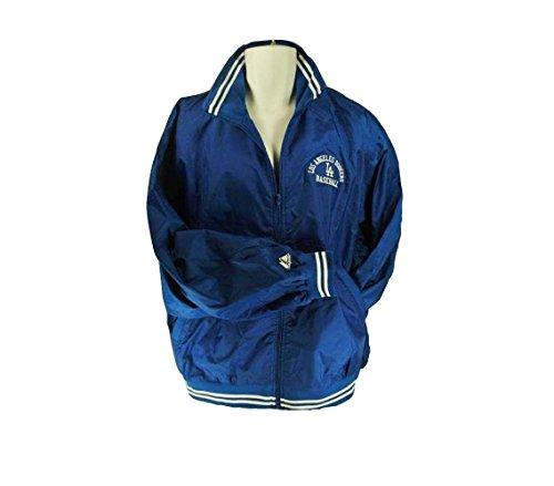 Majestic Los Angeles Dodgers Mlb Baseball Athen Men's Thin Jacket Royal Blue Size (Majestic Dodgers Jacket)