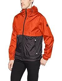 Southpole Mens Water Resistance Hooded Windbreaker Jacket Jacket