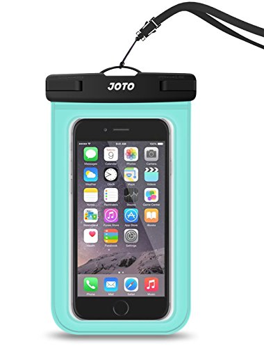 Universal Waterproof Case, JOTO Cellphone Dry Bag Pouch for iPhone X 8 7 Plus 6S 6 Plus, Samsung Galaxy S9 S9 Plus S8 Note 8 6 5 4, Google Pixel ()