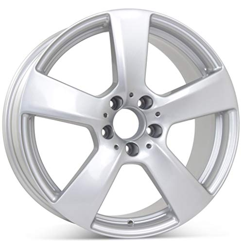 (New 18 inch x 8.5 inch Alloy Replacement Front Wheel compatible with Mercedes E350 E550 2010 2011 Rim 85129)