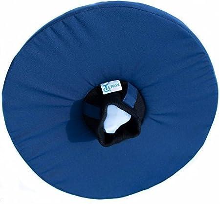 Tepaw Tier-Kragen - Premium-Leckschutz blau - Halskrause für dein Haustier - Je nach Größe der perfekte Schutzkragen für klei