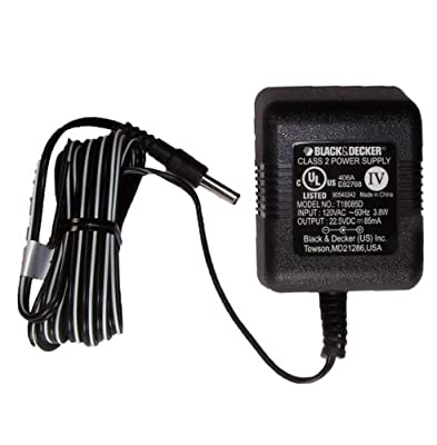 Black & Decker GC1800 / GC180WD 18V Drill Replacement Pin Style Charger, 90540242