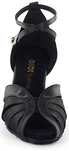 DSOL CLASSICLatin dance Sandal DC271303/DC271308 - salón mujer Negro - negro