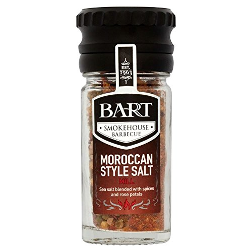 Bart Smokehouse Barbecue Moroccan Salt Mill (40g) - Pack of 6 by Bart