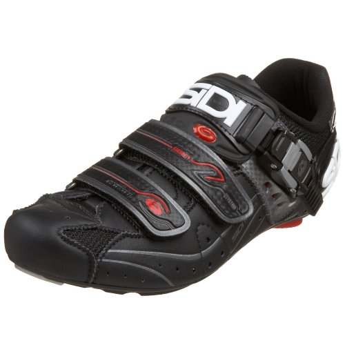 Sidi Genius 5.5 Carbon Cycling Shoe,Black/Black,38 M EU (...