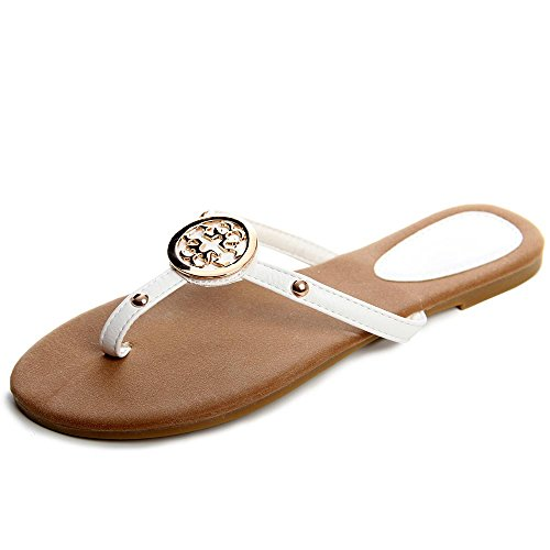 topschuhe24 - Sandalias de vestir para mujer blanco - blanco