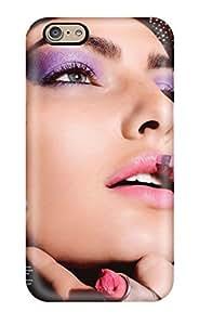 Iphone 6 Case Cover - Slim Fit Tpu Protector Shock Absorbent Case (alyssa Miller Allure Magazine )