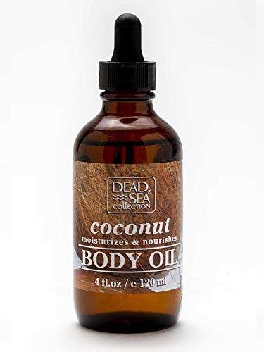 Fl Oz Body Oil - Dead Sea Collection Body Oil Smooth and Revitalize Skin 4fl.oz 120ml (Coconut Oil, Package of 3)