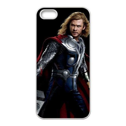 Thor Odinson 004 coque iPhone 4 4S cellulaire cas coque de téléphone cas blanche couverture de téléphone portable EOKXLLNCD20397