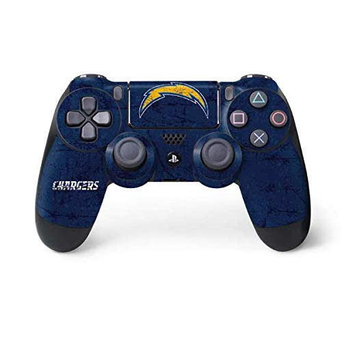 - NFL San Diego Chargers Distressed Skin for Sony PlayStation 4/ PS4 Dual Shock4 Controller