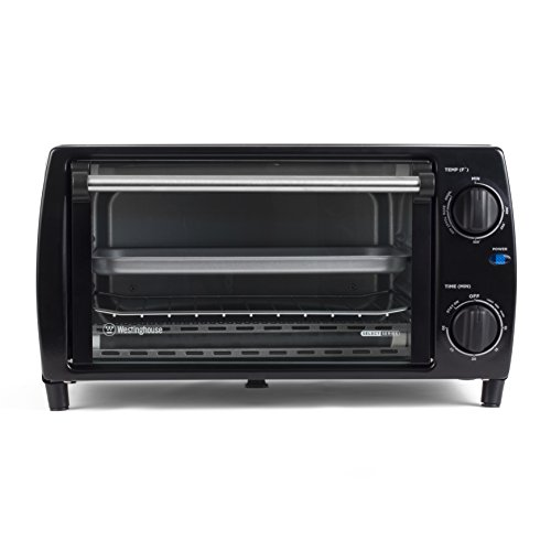 Westinghouse Select Series WTO1010B 4 Slice Countertop Toaster Oven, Black (Toast Oven Grill compare prices)