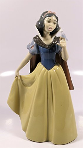 (Lladro Limited Edition Figurine 7555, Snow White (girl with bird))