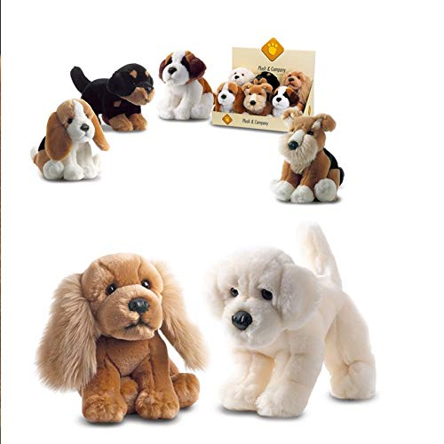 Plush and Company Dogs Small Plush Doggy Toy, 21 cm